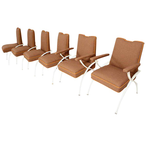 Mid-Century Modern Dining Set Chairs For Sale