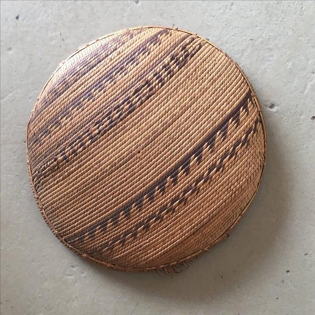 Woven Tribal Wall Basket - Image 5 of 5