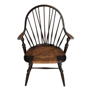 Brace Back New York Style Windsor Chair For Sale