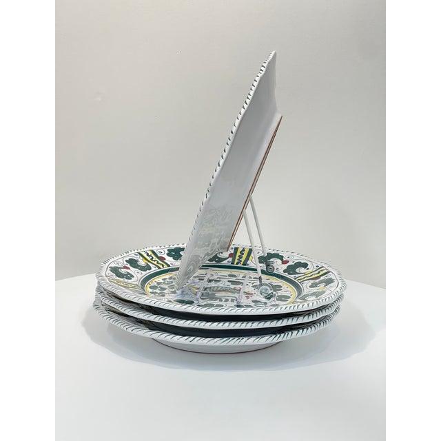 Orvieto Dinner Plate, Full Design - Set of 4 For Sale - Image 4 of 9