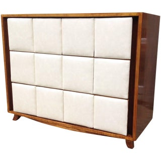 1940s Mid-Century Modern Gilbert Rohde for Herman Miller Mahogany Chest For Sale