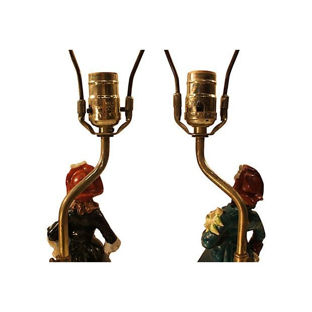 Lord & Lady Lamps - A Pair - Image 6 of 7