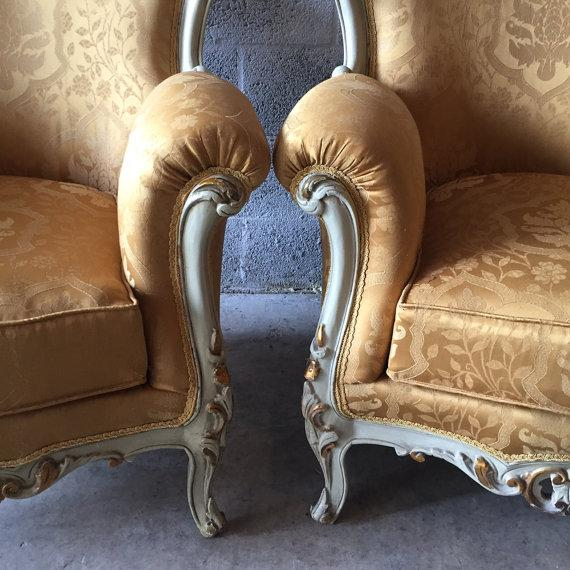 Baroque Armchairs - A Pair - Image 3 of 6