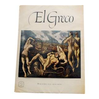 "1950s ""El Greco"" Art Book, Including 16 Prints For Sale"