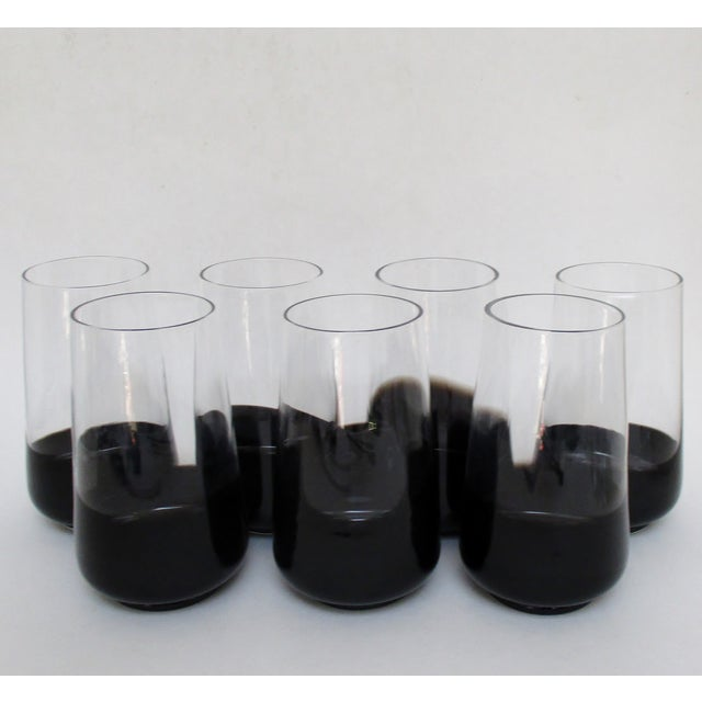 Black Dipped Glassware - Set of 14 - Image 6 of 8