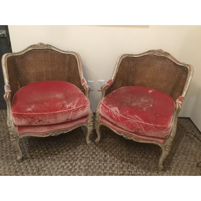 Late 18th Century French Cane Bergere Chairs- a Pair For Sale - Image 13 of 13