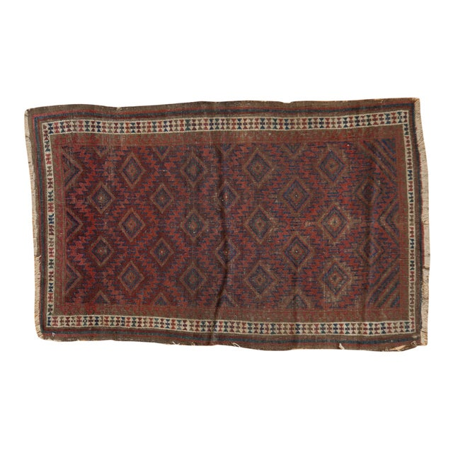 """Antique Belouch Rug - 2'5"""" X 3'9"""" For Sale - Image 11 of 11"""