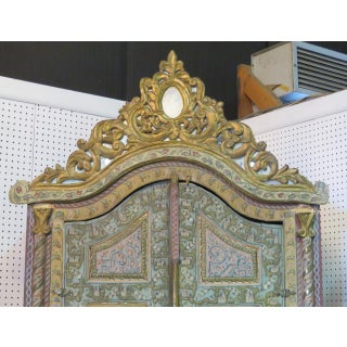 18th Century Vintage Italian Carved Wardrobe Preview