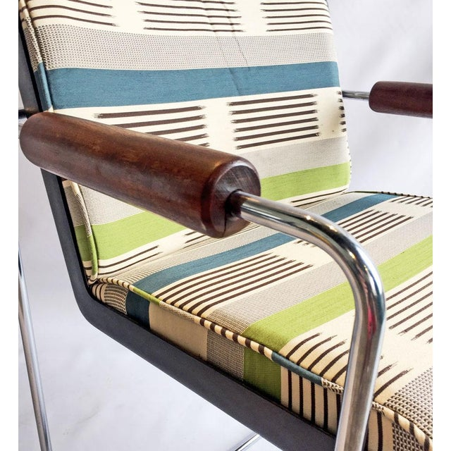 1960's Chrome Accent Chair - Image 5 of 6