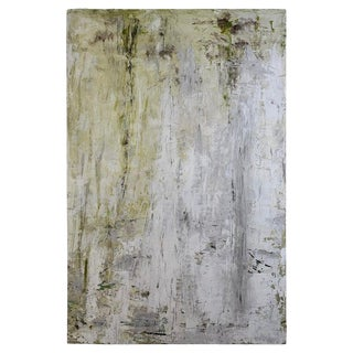 2018 Robin Phillips Forrest Glimpse Plaster and Dye Painting For Sale
