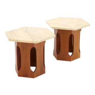 Pair of Harvey Probber Side Tables For Sale