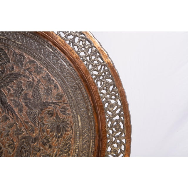 1960s Tinned Copper Commemorative Tray For Sale - Image 5 of 6