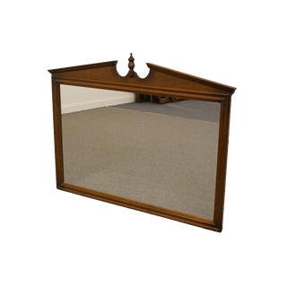 Ethan Allen Classic Manor Pediment Dresser Mirror For Sale