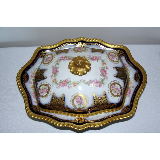 1900s Limoges Display Collector Casserole Covered Dish For Sale - Image 5 of 11