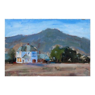 """Boarded Up"" California Landscape Painting For Sale"