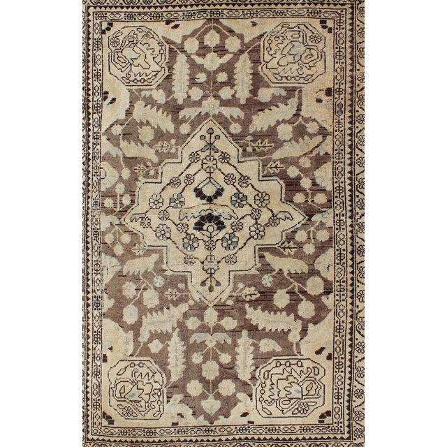 Islamic Semi Antique Lilihan Rug - 4′3″ × 6′9″ For Sale - Image 3 of 13