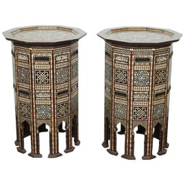 Image of Moorish Accent Tables