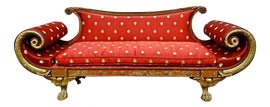 Image of Neoclassical Settees