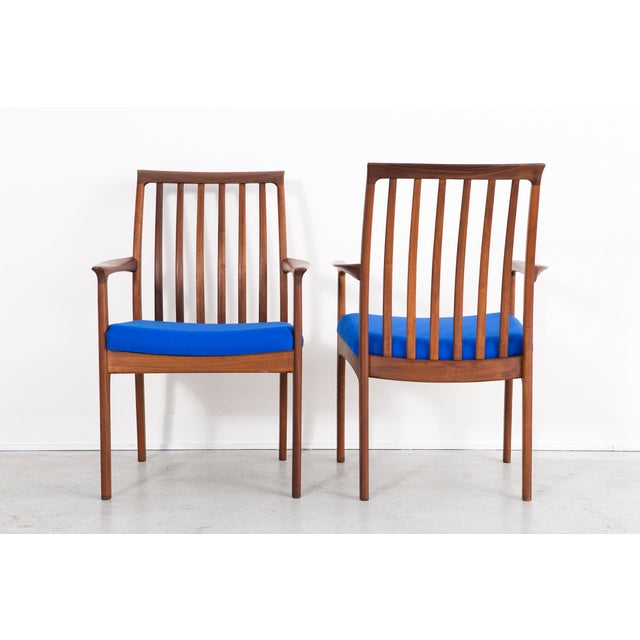 Mid-Century Modern 1960s Set of Dux Dining Chairs For Sale - Image 3 of 13