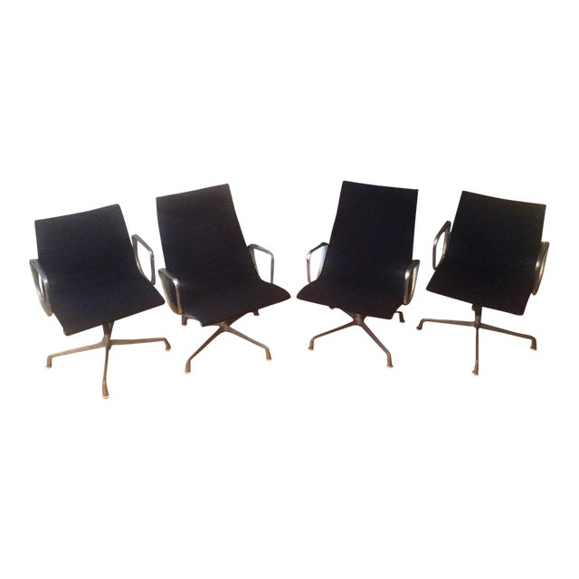 Eames Chairs High-Backed Chairs - Set of 4 - Image 1 of 11
