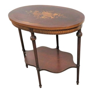 19th Century Victorian Herter Brothers Style Inlaid Side Table