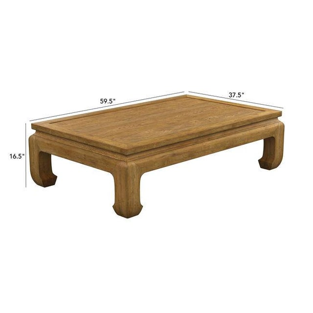 2010s Dynasty Rectangular Coffee Table For Sale - Image 5 of 6