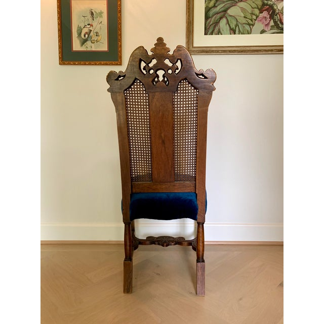 Early 20th Century Vintage Italian Rococo Chair For Sale - Image 4 of 10
