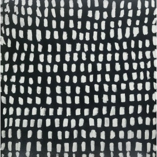 "Sarah Trundle Contemporary Black and White Painting, ""Unruly"" For Sale"