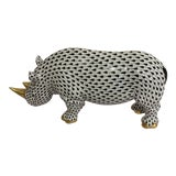 Image of Herend Rhinoceros For Sale
