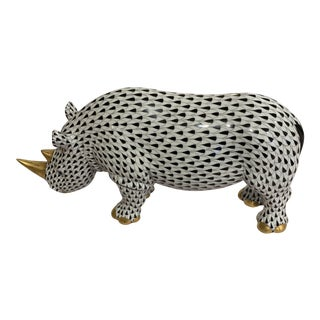 Herend Rhinoceros For Sale