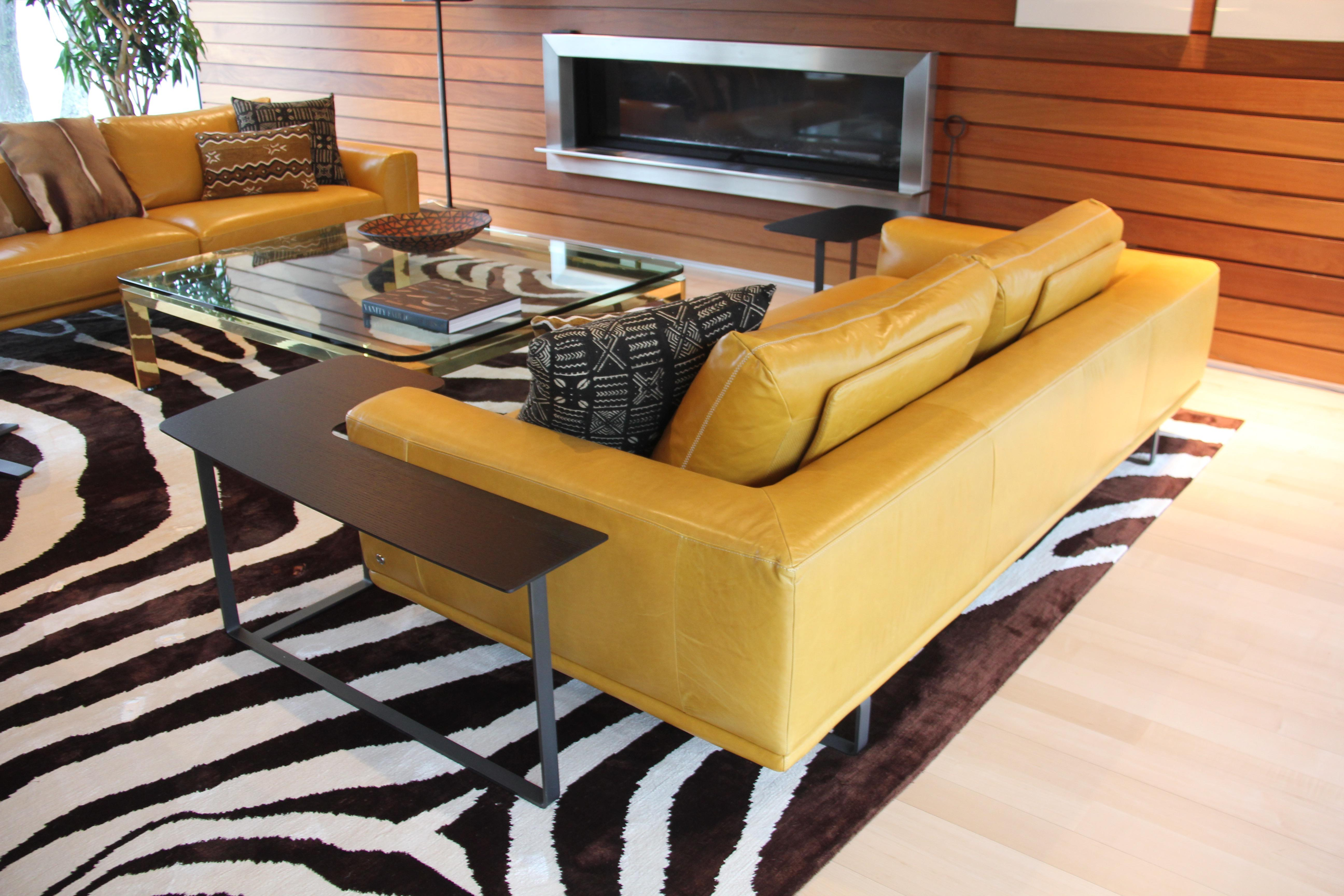 Exceptionnel Natuzzi L Shaped Side Tables   A Pair For Sale   Image 7 Of 11