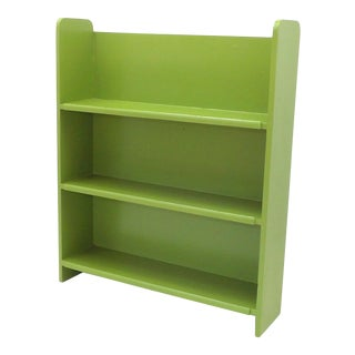 1970s French Country Lime Wood Shelf For Sale