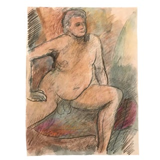 Double Sided Nude by James Bone 1990s For Sale