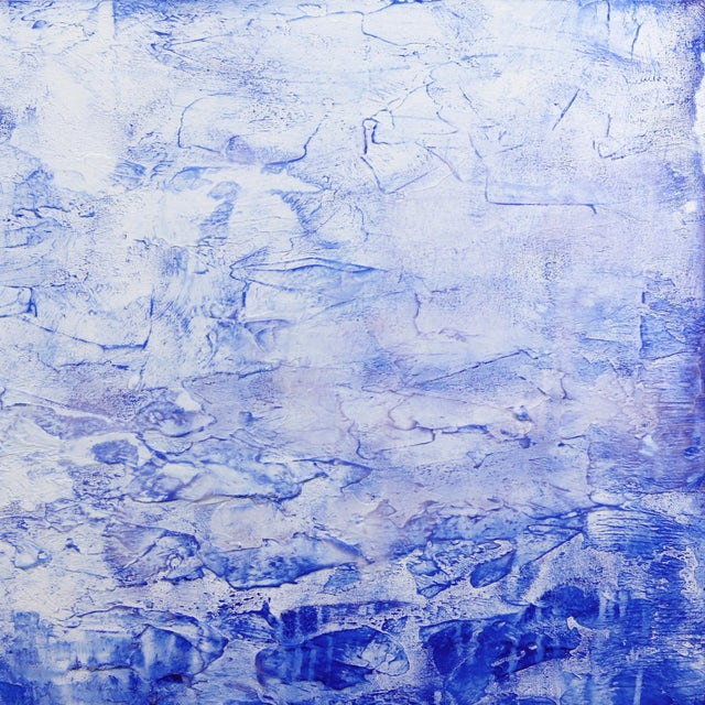 Abstract ''Oceanic Escape'' Contemporary Abstract Acrylic Painting by Clara Berta For Sale - Image 3 of 9
