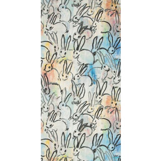 Hunt Slonem for Lee Jofa, Lucky Charm Wallpaper Roll, Multi, 10 Yards For Sale