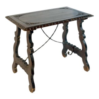 Early 19th Century Spanish Baroque Side Table For Sale