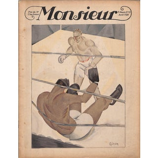 Monsieur April 1924 For Sale
