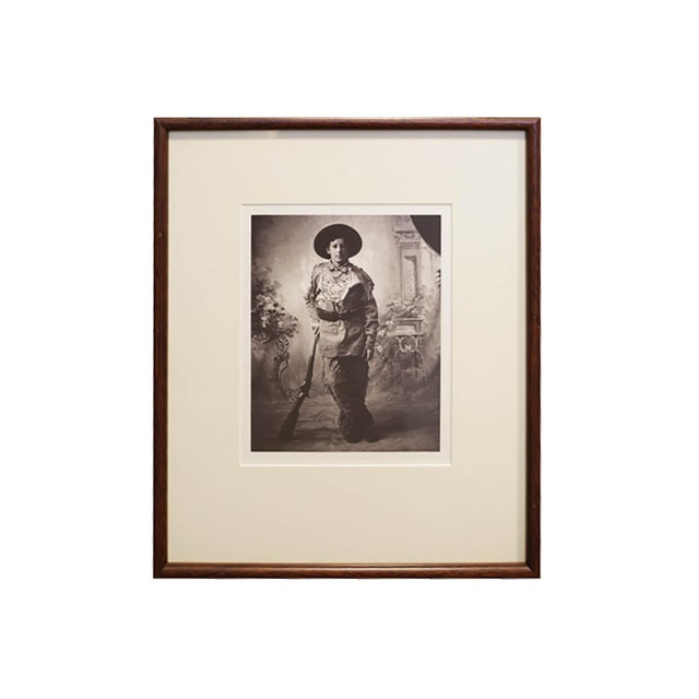 Modern Early 20th c. Framed Native American Photographs by Frank Bennett Fiske, circa 1906 - Set of 3 For Sale - Image 3 of 8