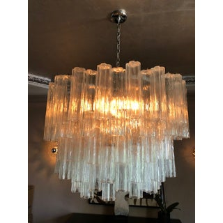 Vintage Murano Glass Tronchi Chandelier Preview