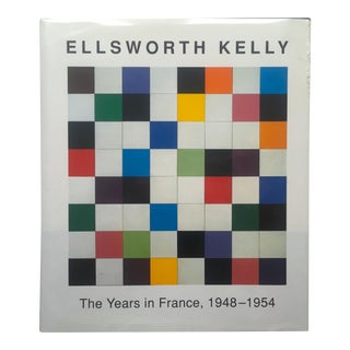 """Ellsworth Kelly the Years in France 1948 - 1954 "" 1st Edition Hardcover Exhibition Art Book For Sale"