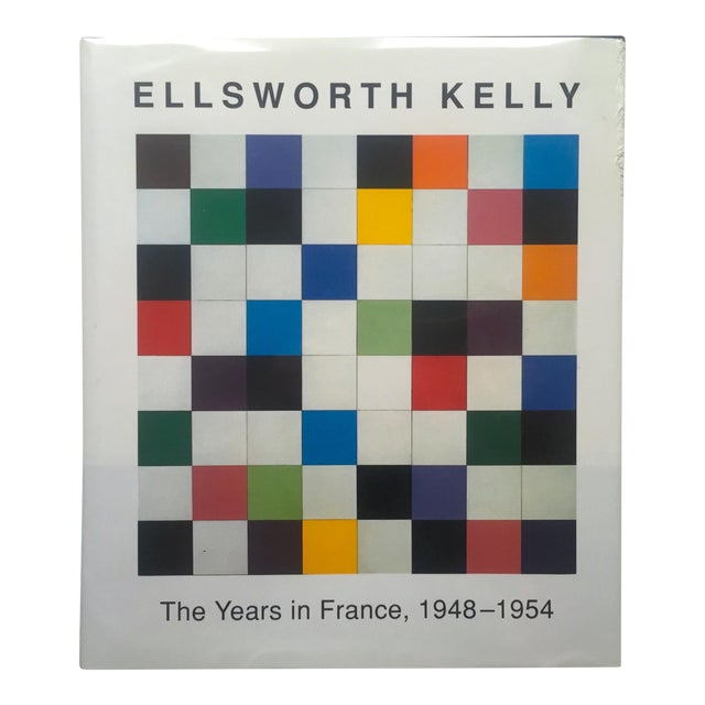 """""""Ellsworth Kelly the Years in France 1948 - 1954 """" 1st Edition Hardcover Exhibition Art Book For Sale"""
