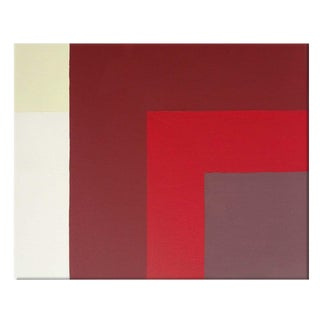 """Mid-Century Modern Red No. 3 36"""" X 48"""" For Sale"""