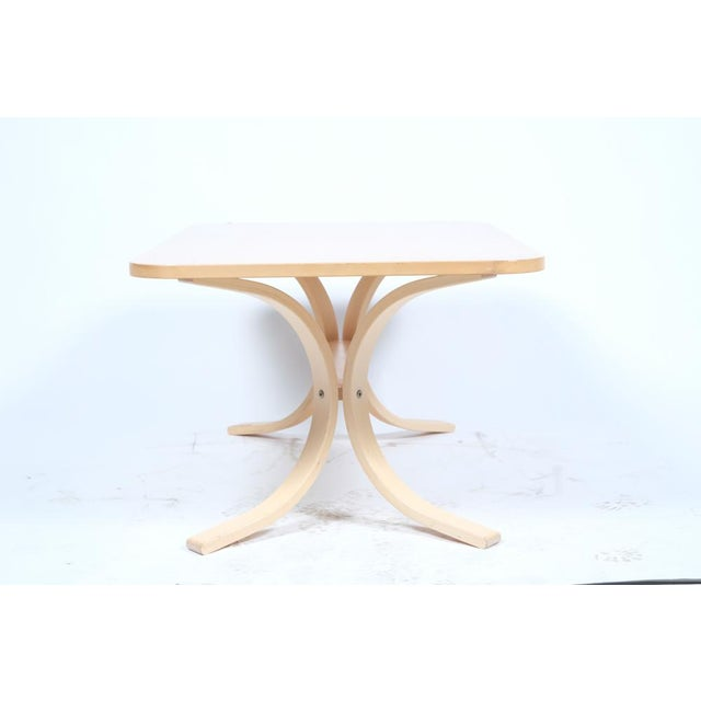 Asko Asko Mid-Century Modern-Style Birch Coffee Table For Sale - Image 4 of 11