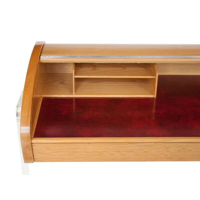 Vladimir Kagan Roll Top Writing Desk - Image 10 of 10