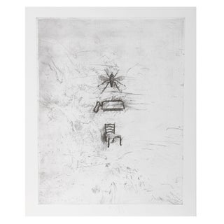 Donald Saff - Fly Iron Chair Etching