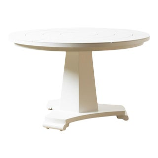 Capella Powder Coated Aluminum Dining Table For Sale