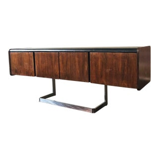 Andre Laurent for Ste-Marie & Laurent Mid Century Modern Rosewood Credenza For Sale