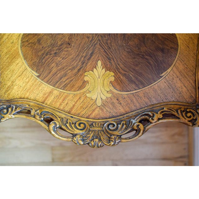 Early 20th Century Antique Tonk French Court Galleries Coffee Table For Sale - Image 9 of 13