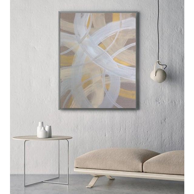 'CELESTiNE' original abstract painting by Linnea Heide - Image 3 of 8