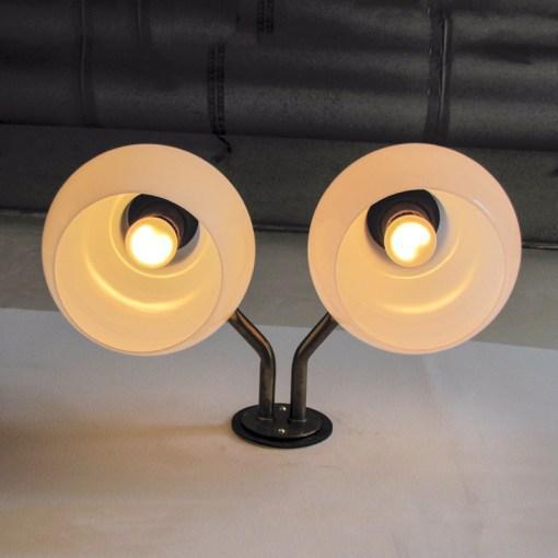 Vilhelm Lauritzen Double Wall Lights For Sale - Image 9 of 10
